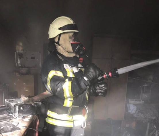 В Киеве случился пожар в Минобразования Украины