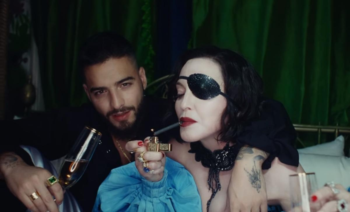 Мадонна выпустила клип впервый раз за 4 года