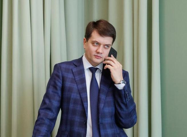Партия Слуга народа — Самый достойный кандидат на пост спикера Рады IX созыва — Дмитрий Разумков, считает Давид Арахамия