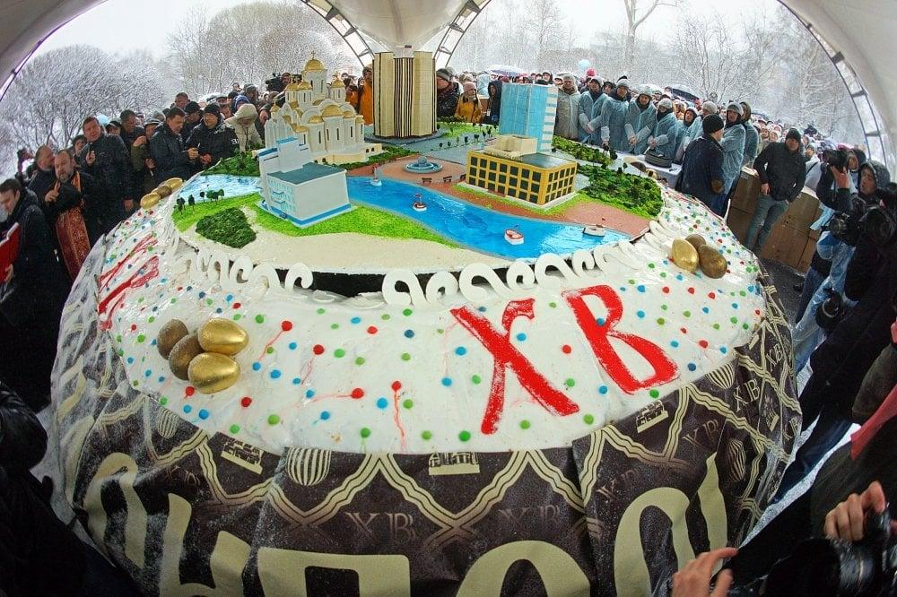 Кулич из Екатеринбурга