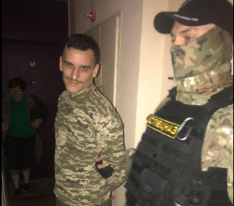 Экс-боец АТО записал видео, чтобы показать отстрелянный гранатомет Зеленскому / Фото: Facebook/Александр Дубинский