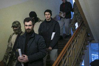 Украинские моряки