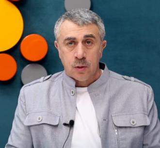 Евгений Комаровский сообщил, что массовая болезненность детей в Украине — иллюзия
