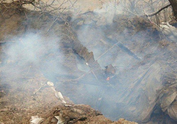 Волонтеры показали фото блиндажа, в котором погибла