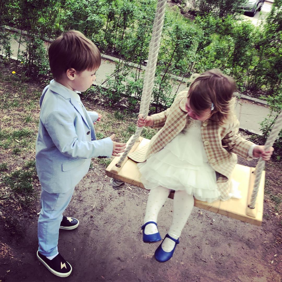 Ольга Фреймут, дети