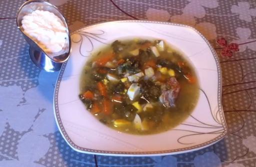 Рецепт самого вкусного зеленого борща