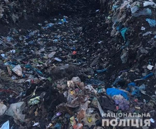 У Николаева на свалке мусором привалило ребенка, он погиб