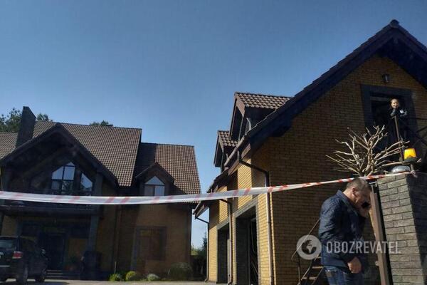 Под Киевом ограбили дом Павла Пинзеника