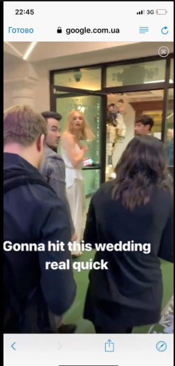 Актриса Игры Престолов вышла замуж в одежде от украинского дизайнера