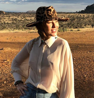 Ксения Собчак показала снимок в тюрбане и в пальто и нарвалась на критику