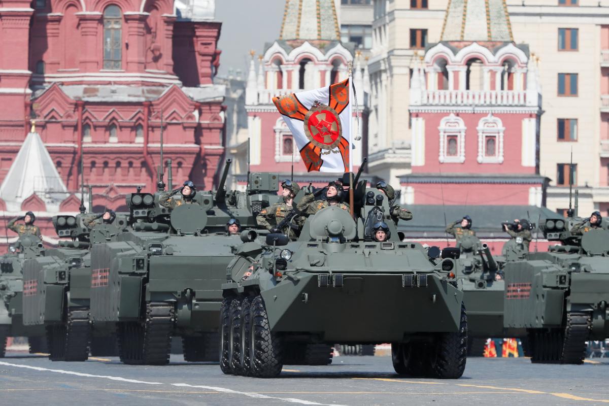 Парад на День Победы в Москве - репетиция