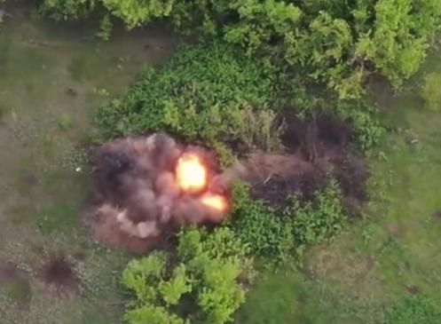 В разведке сообщили, что на Донбассе 7 мая ликвидированы три боевика и два БМП противника