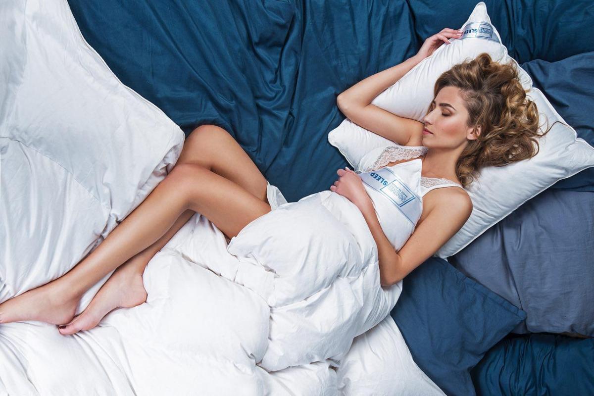 Для здорового сна нужна хорошая подушка