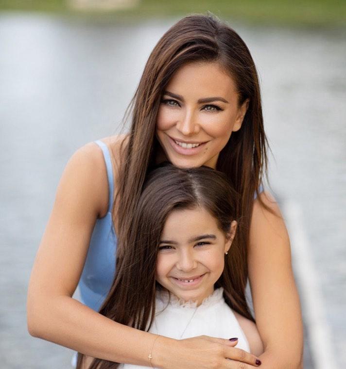 Ани Лорак, дочь