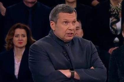 Соловьев в свойственной ему манере оторвался на украинском эксперте
