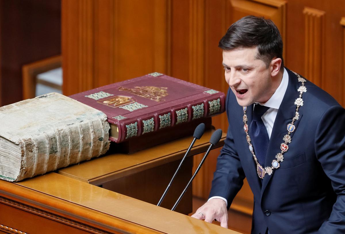 Собраны самые яркие цитаты из выступления Владимира Зеленского после инаугурации