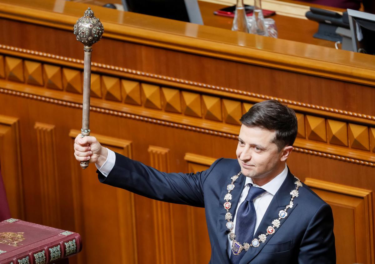 Владимир Зеленский, булава