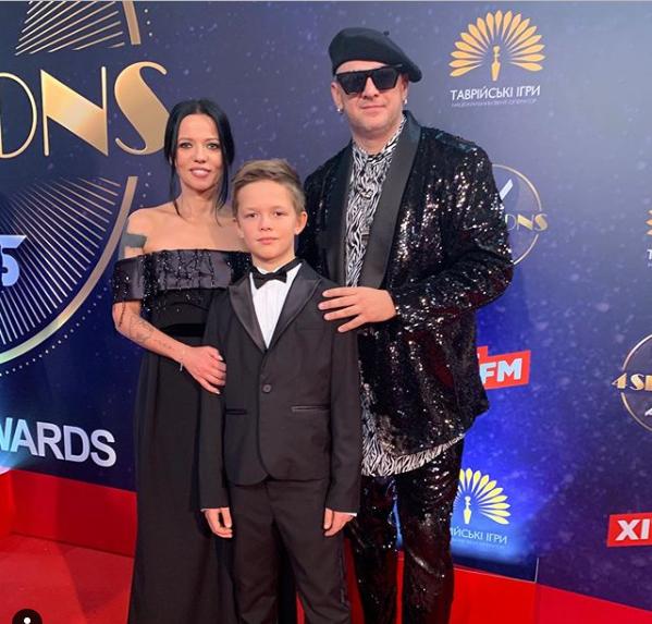 Потап с бывшей женой и сыном / Фото: Instagram/Ирина Горовая