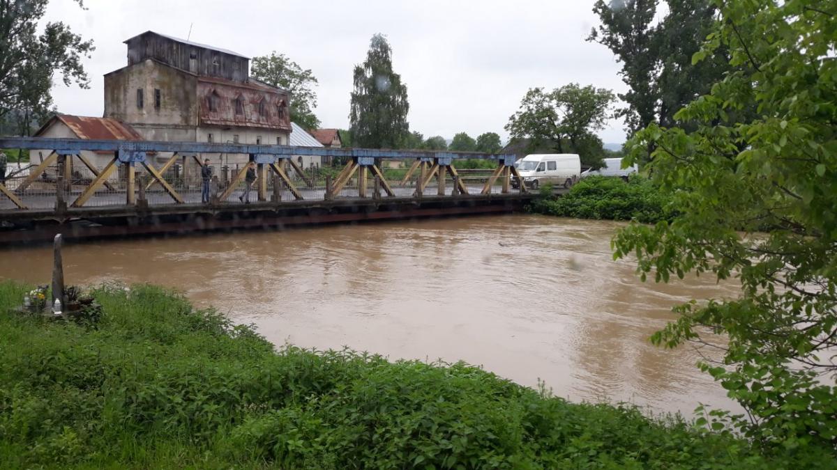 Мощный потоп на западе Украины