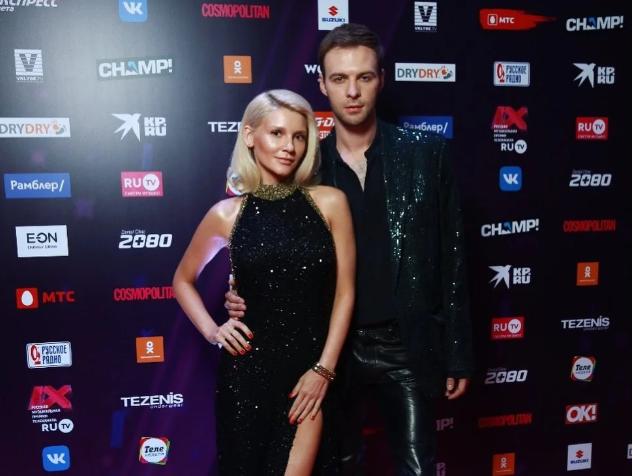 Макс Барских и Миша Романова посетили премию в Москве