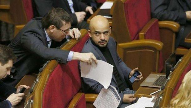 Луценко и Найем поссорились в Сети