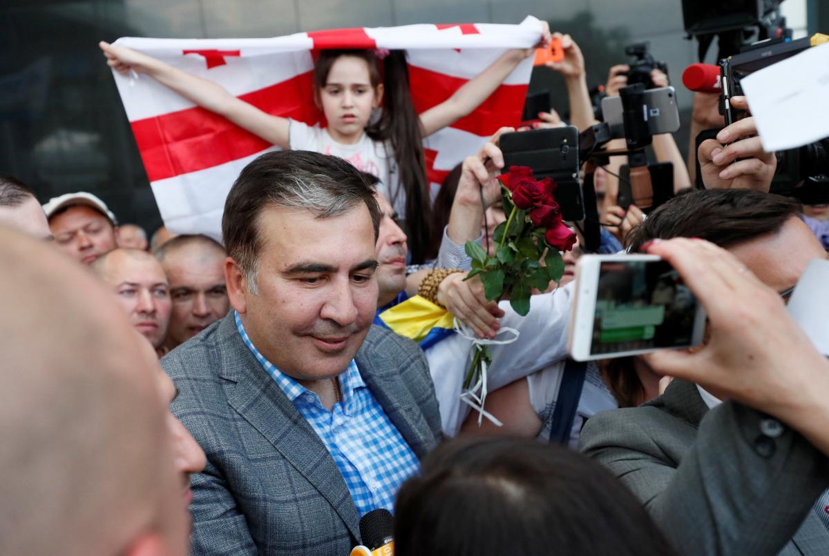 Михаил Саакашвили — Михаил Саакашвили сказал, что будет делиться опытом с командой Владимира Зеленского