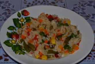 Как варить рис — Собраны рецепты риса с овощами
