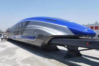 Китайский поезд способен развить скоростью в 600 километров в час / techexplorist