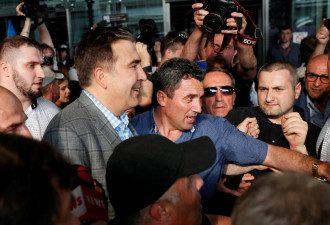 Михеил Саакашвили — Михеил Саакашвили сообщил, что прилетел в Украину для изменения государства