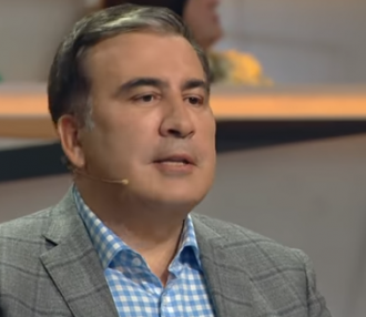 Михеил Саакашвили — Михеил Саакашвили сказал, что недавно встретил Петра Порошенко и прошел мимо