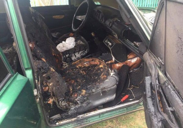 На Одесчине в результате пожара в салоне авто погиб ребенок