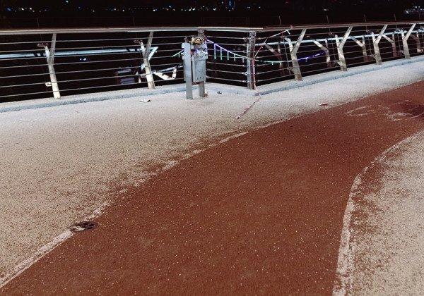 Киевлянин сообщил об очередной поломке на новом киевском мосту