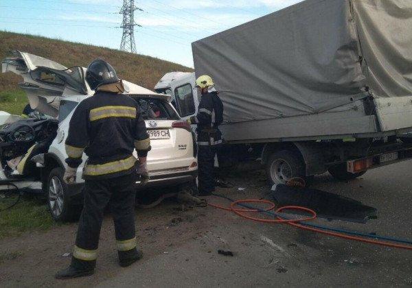 В Одесской области произошла авария, погибли четыре человека