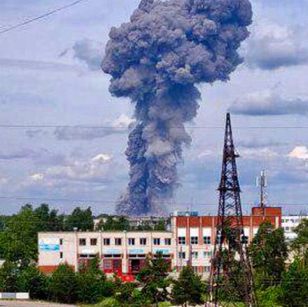 Взрыв в Дзержинске — В Дзержинске на оборонном предприятии произошел мощный взрыв
