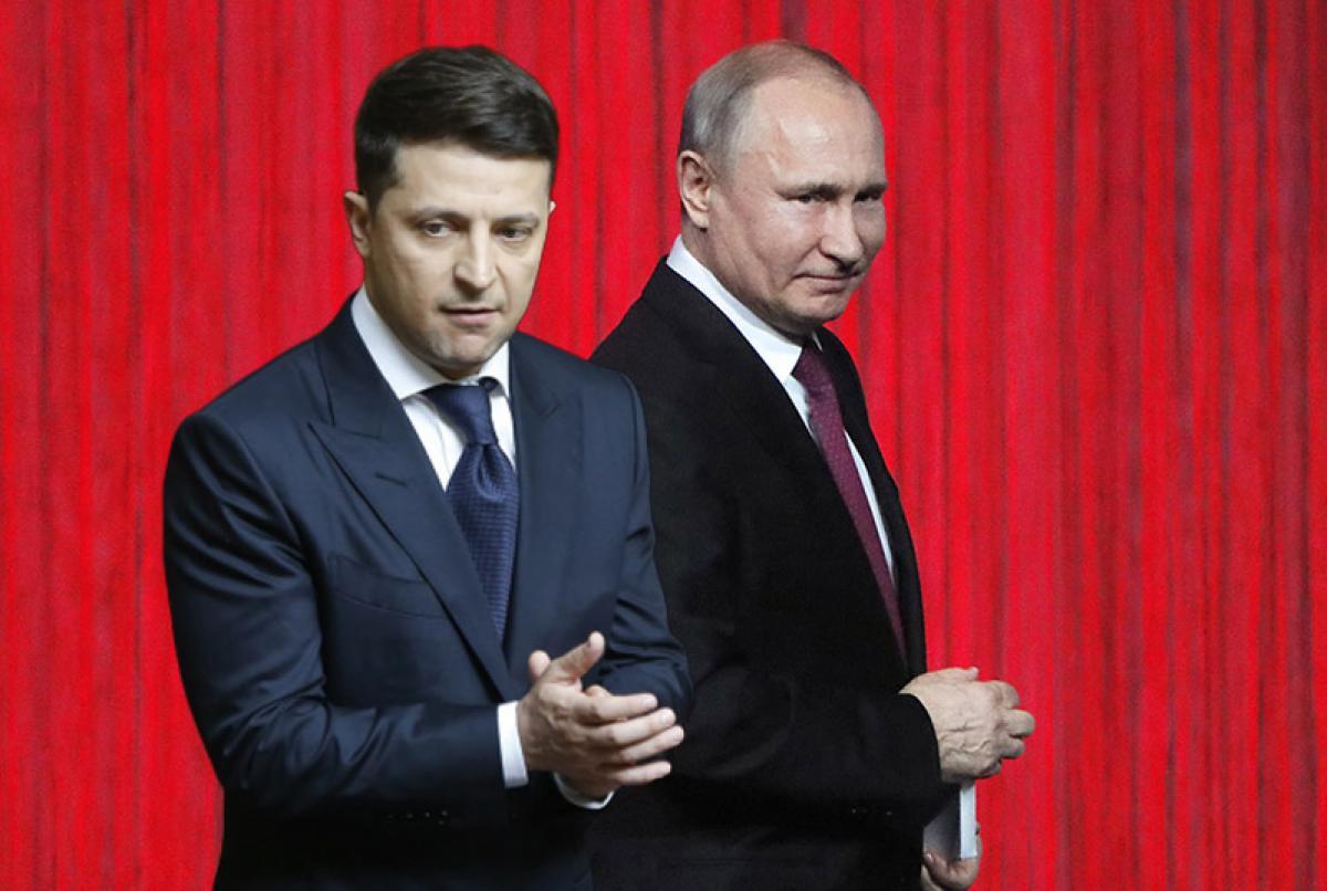 Конфликт на Донбассе — Огонь на Донбассе прекратится, если Владимир Зеленский и Владимир Путин прикажут не стрелять, полагает журналист