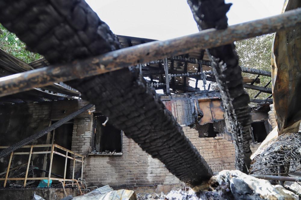 Пожар в Одессе — Число жертв пожара в одесской психбольнице возросло до семи человек, сообщили в ГСЧС