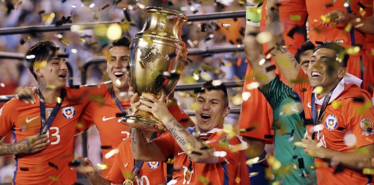 Сборная Чили будет отстаивать чемпионский титул