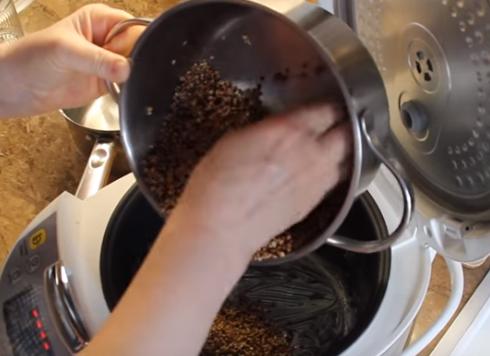Этапы приготовления гречки в мультиварке