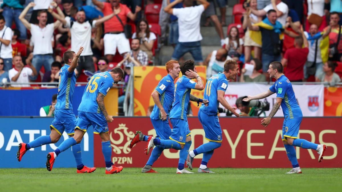 Украинская сборная проявила характер