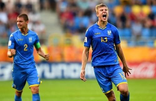Радости Украины после свистка не было предела