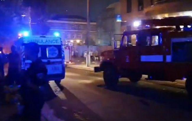 В центре Киев прогремел мощный взрыв с разрушениями