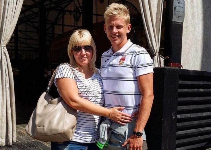 Зинченко с мамой