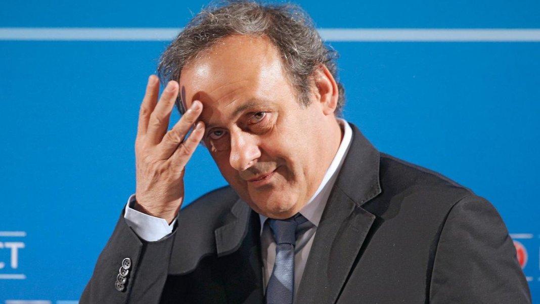 Мишель Платини арестован