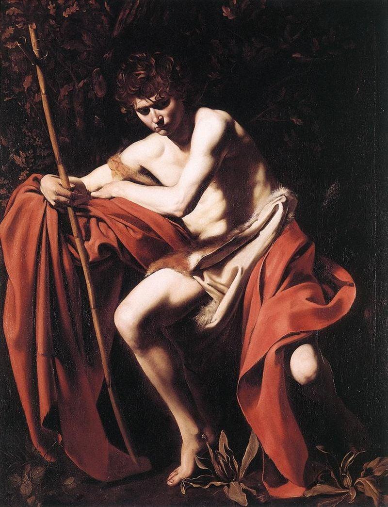 Иоанн Креститель. Караваджо, 1604 - иоанн креститель картина