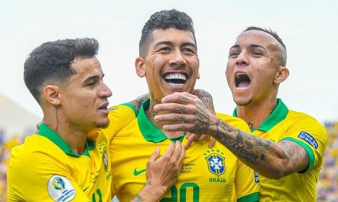 Бразилия уничтожила Перу
