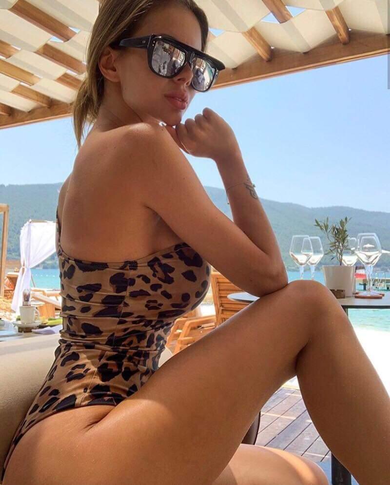 Карина Коваль на отдыхе