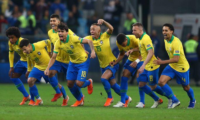 Бразильцы вырвали путевку в четвертьфинал