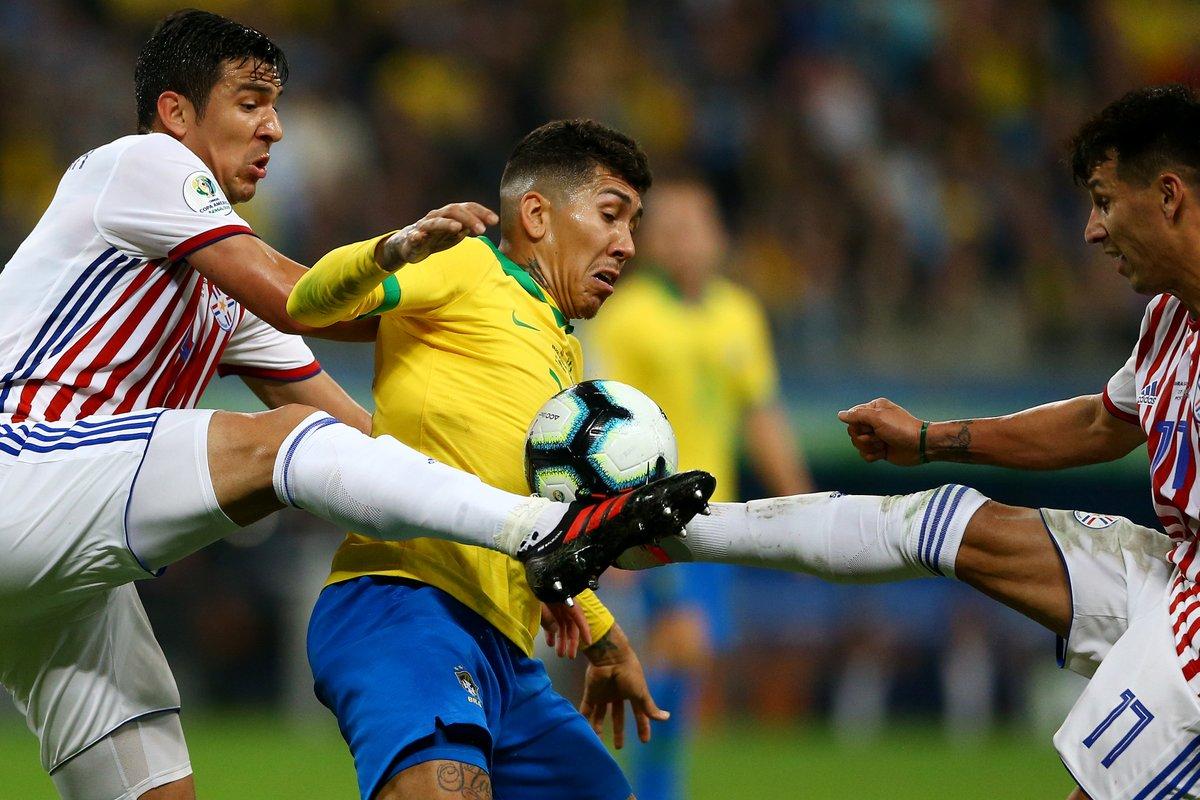 Парагвайцы ничем не уступали бразильцам