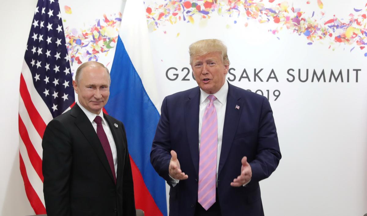 Трамп,Путин