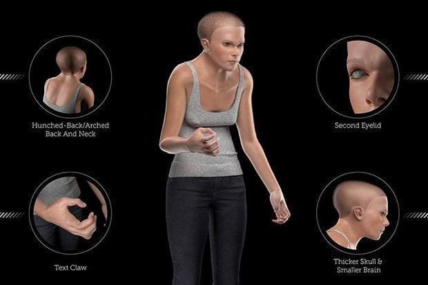 Минди показала, как люди могут выглядеть в 2100 году / dailystar.co.uk